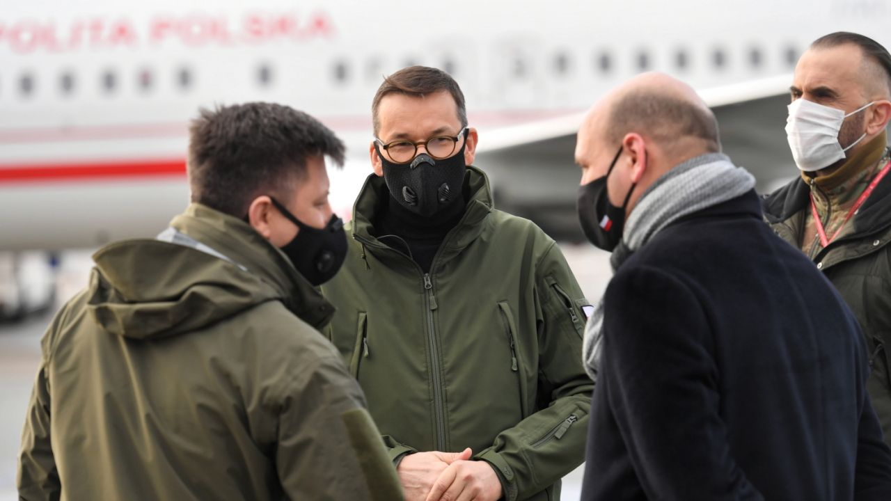 Premier Mateusz Morawiecki. Czy informacje dziennikarzy się potwierdzą? (fot. PAP/Piotr Nowak)