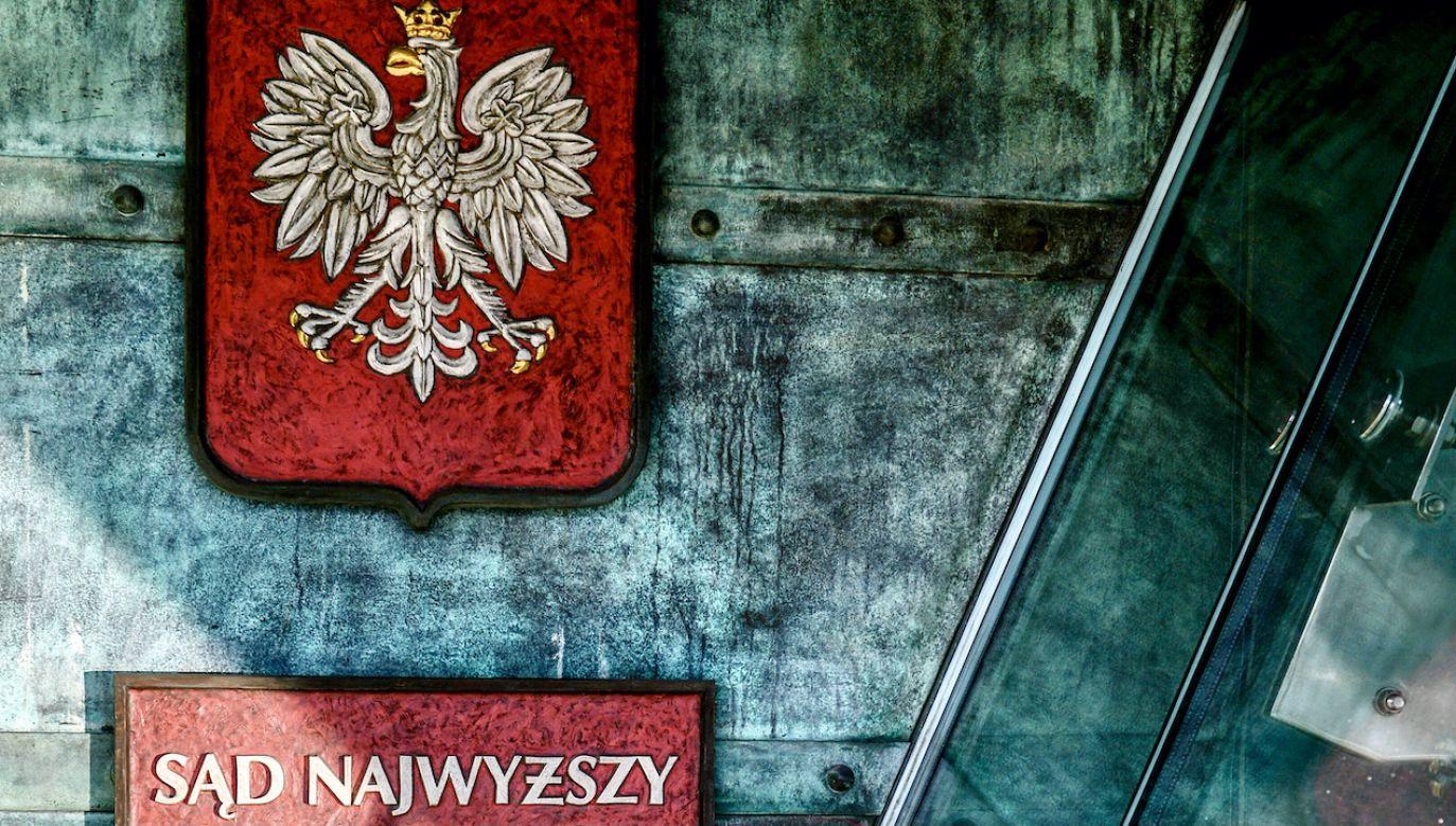 Sąd Najwyższy chce, aby sprawę rozpatrzono jeszcze raz (fot. arch.PAP/Marcin Obara)