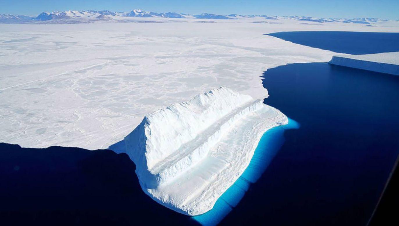 Operacja IceBridge zbierze dane dot. zmian lodu na Antarktydzie (fot. NASA)
