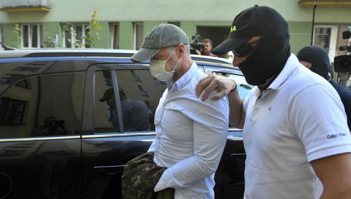 Coraz więcej zatrzymanych w sprawie Słąwomira Nowaka (fot. PAP/Radek Pietruszka)