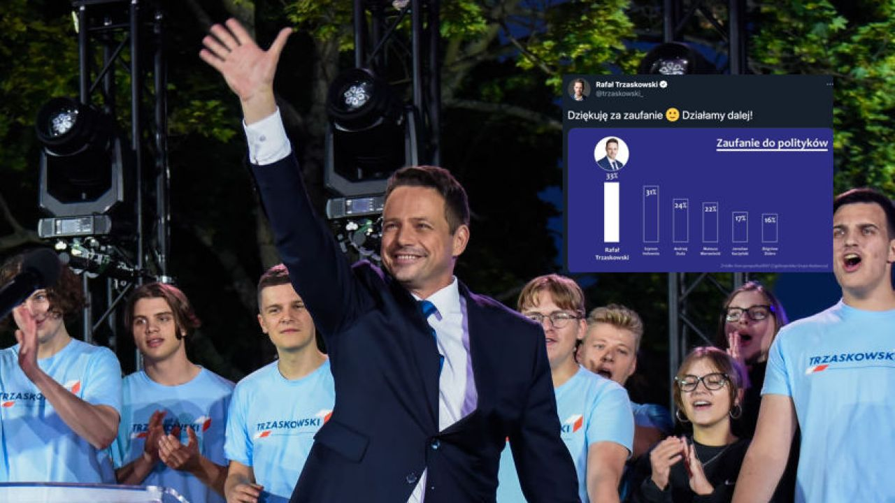 Rafał Trzaskowski liderem sondażu (fot. Omar Marques/Getty Images)