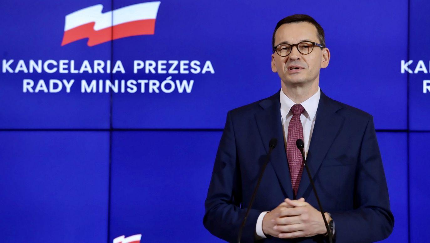 Początkowo wyglądało to różnie, ale widzimy, że nasze postulaty przebiły się do świadomości naszych partnerów – mówił premier (fot. PAP/T.Gzell)
