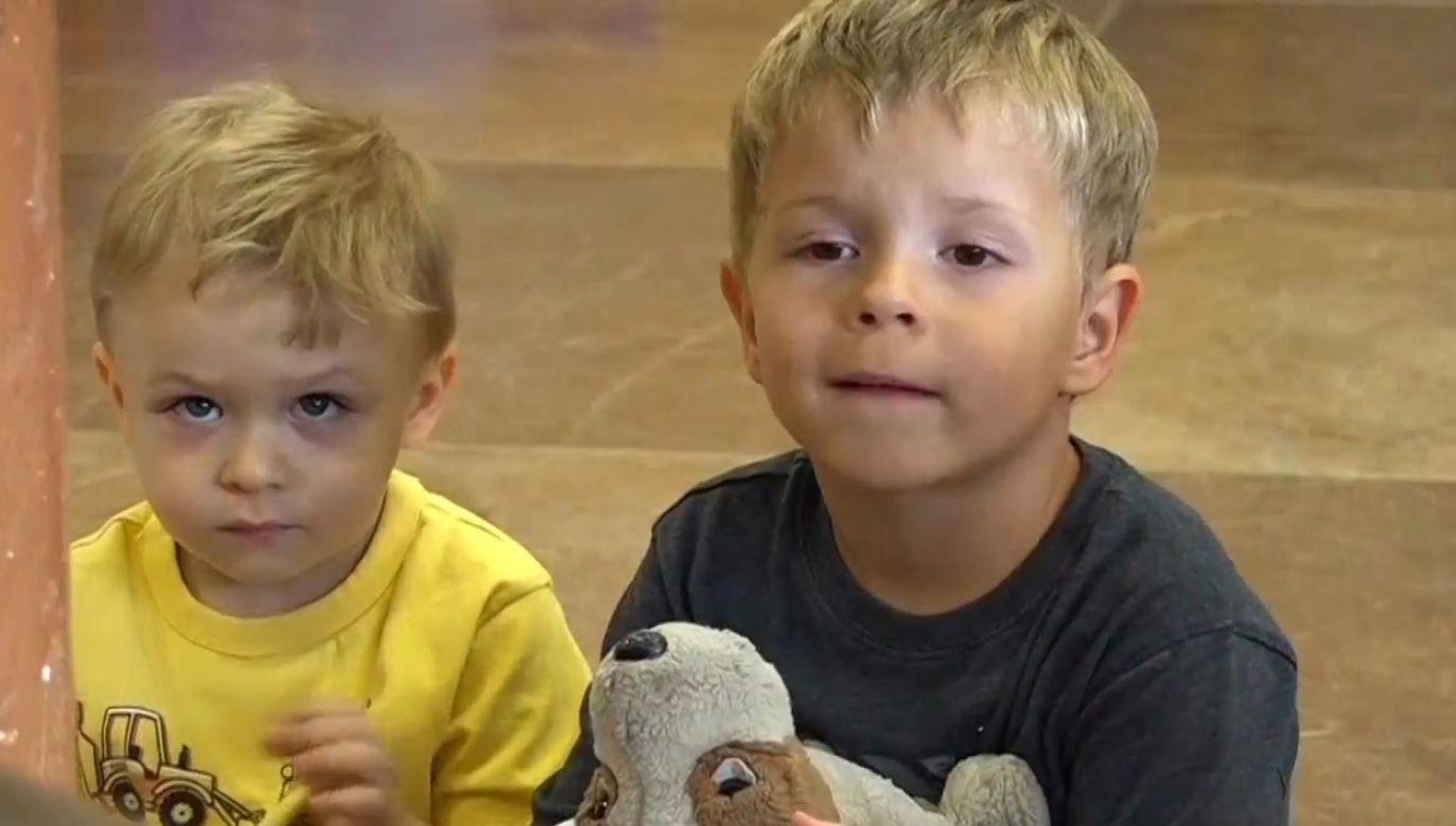 Fundacja pomogła już ośmiuset dzieciom (fot. TVP Info)
