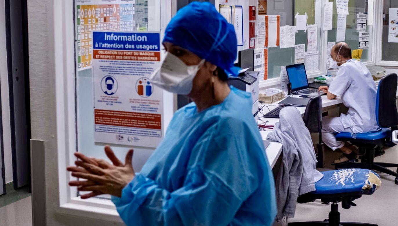 Niewielkie ognisko zakażeń tzw. indyjskim wariantem koronawirusa wykryto w Strasburgu (fot. Arnold Jerocki/Getty Images)