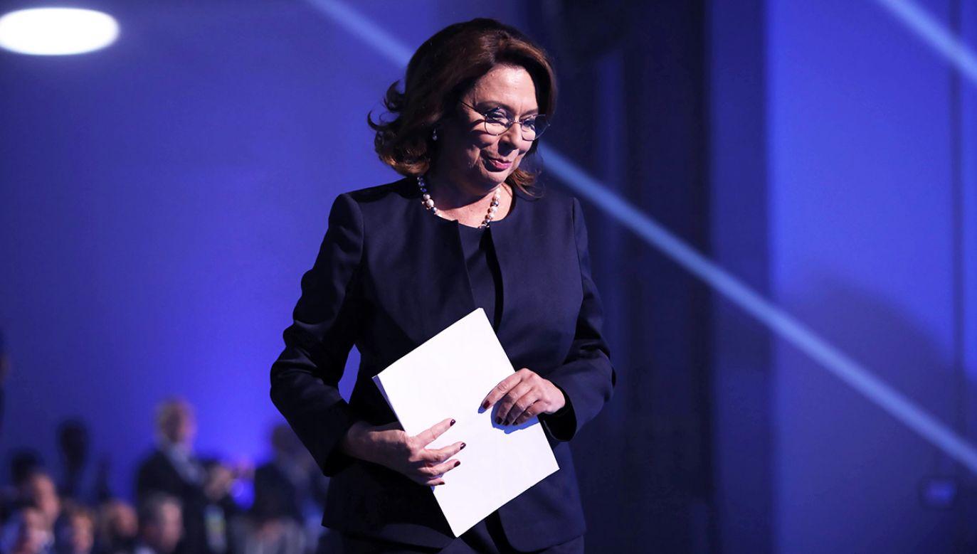 Politycy PiS twierdzą, że Małgorzata Kidawa-Błońska nie czuje polityki zagranicznej (fot. arch. PAP/Leszek Szymański)