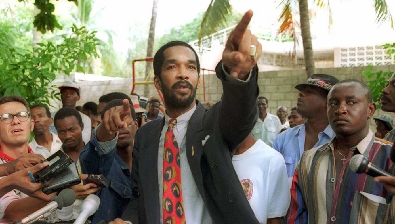 """Emmanuel """"Toto"""" Constant jest winnym masakr przeciwników junty na Haiti (fot. TT/HaitianAmericanNews)"""