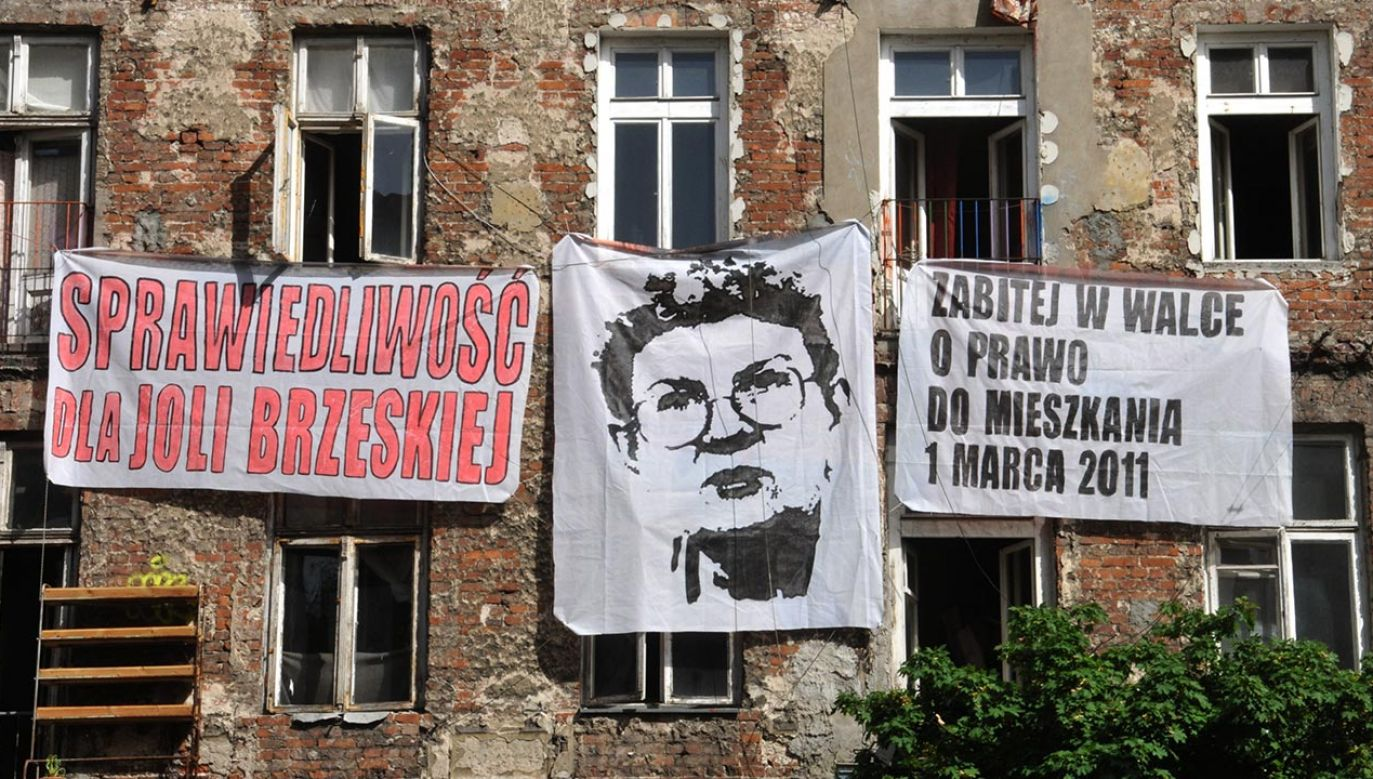 Jolanta Brzeska była działaczką lokatorską (fot. Forum/Wlodzimierz Wasyluk)