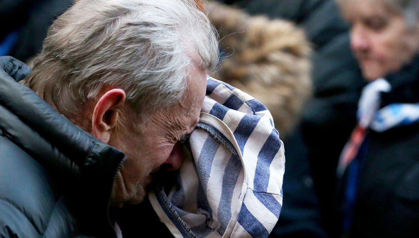 W poniedziałek mija 75 lat od oswobodzenia niemieckiego nazistowskiego obozu Auschwitz-Birkenau (fot. Natalia Fedosenko\TASS via Getty Images)