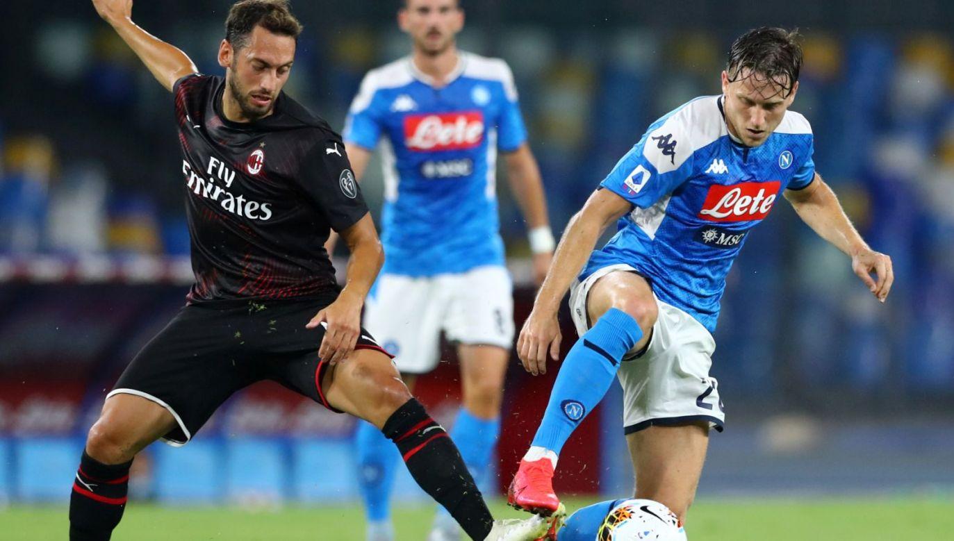 SSC Napoli zremisowało z AC Milan 2:2 (fot. Getty Images)