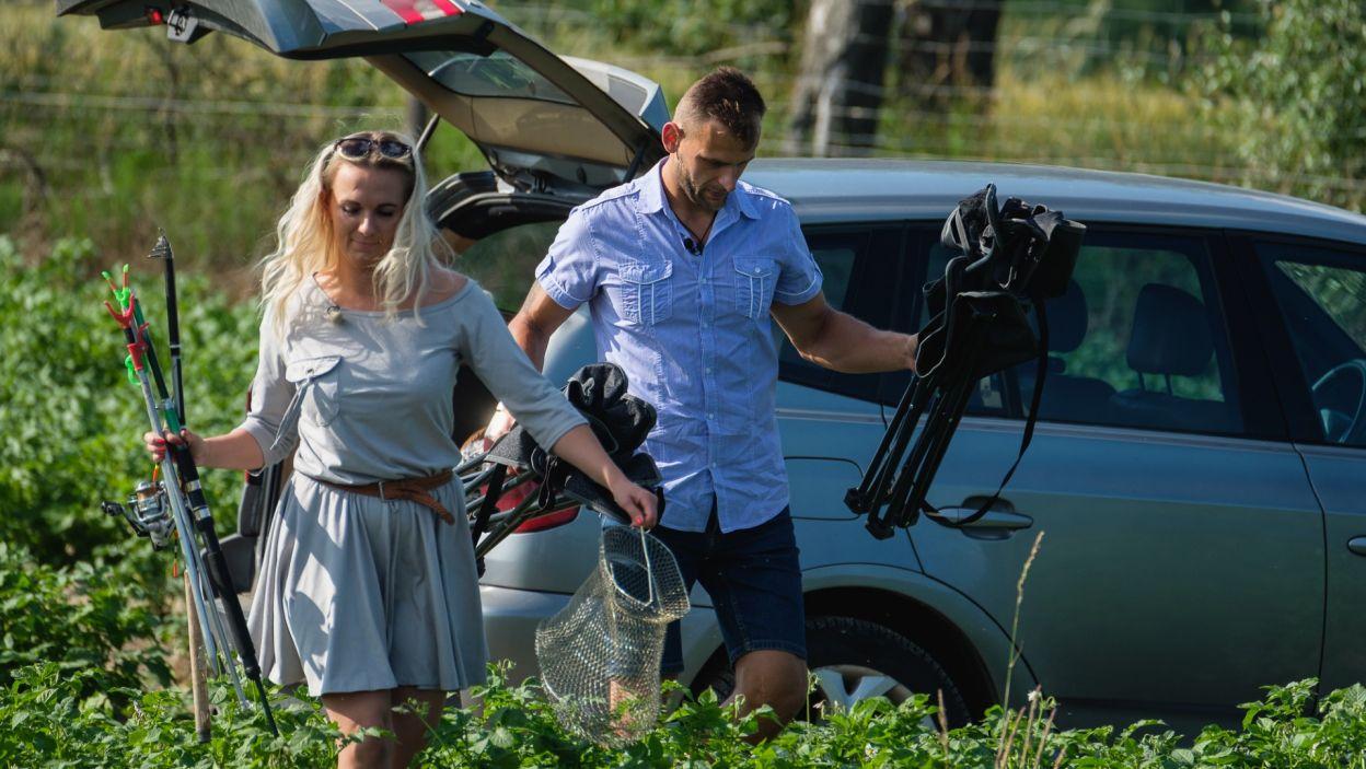 Magda natomiast postanowiła spędzić trochę czasu sam na sam z Adamem. Z jakim skutkiem? (fot. TVP)