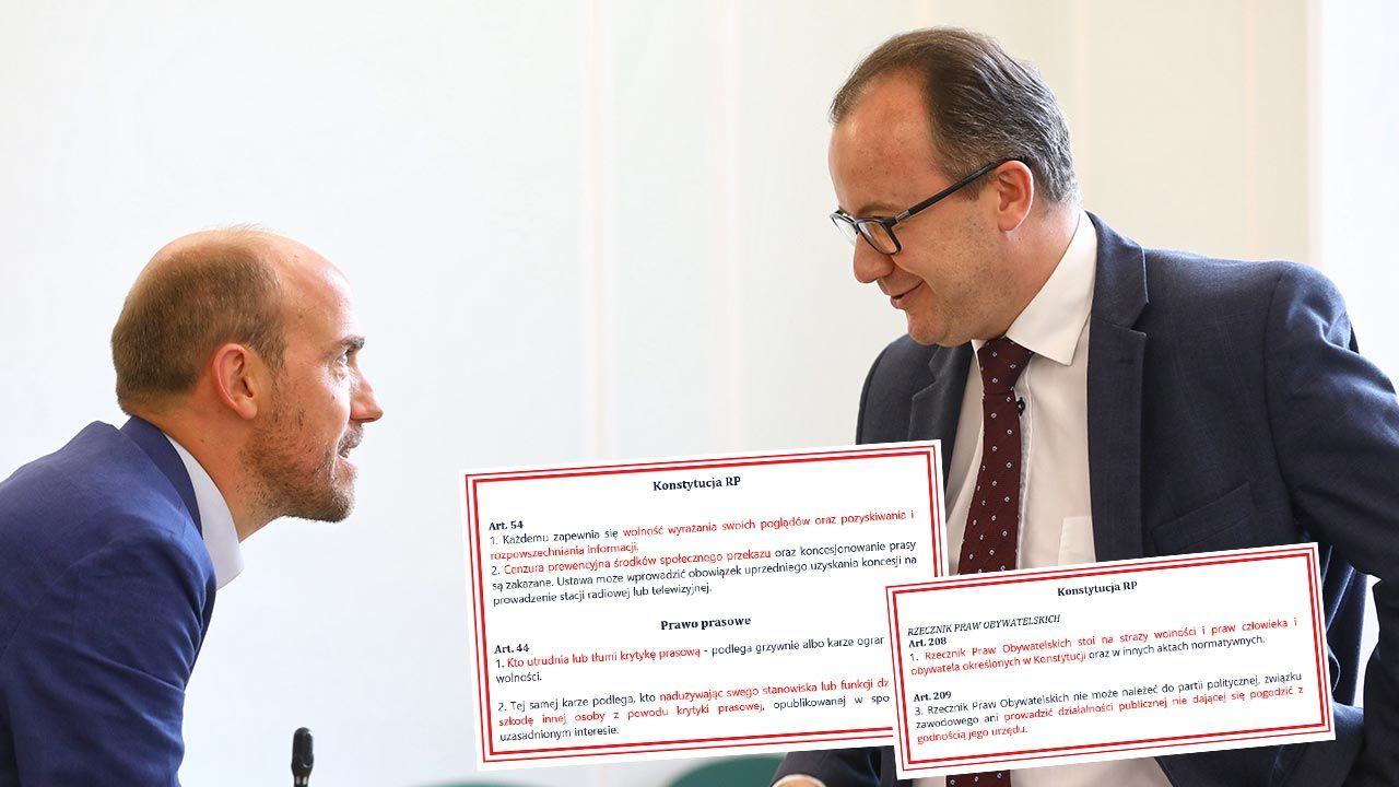 Adam Bodnar odniósł się jedynie do  występu Rafała Trzaskowskiego w TVN (fot. PAP/Rafał Guz)