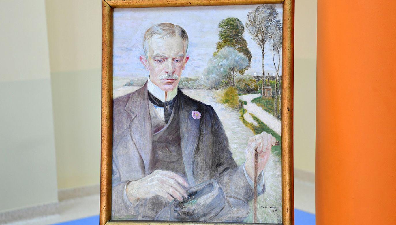 Muzeum im. Jacka Malczewskiego wzbogaciło się o kolejne dzieło swego patrona – portret Karola Potkańskiego (fot. PAP/Piotr Polak)