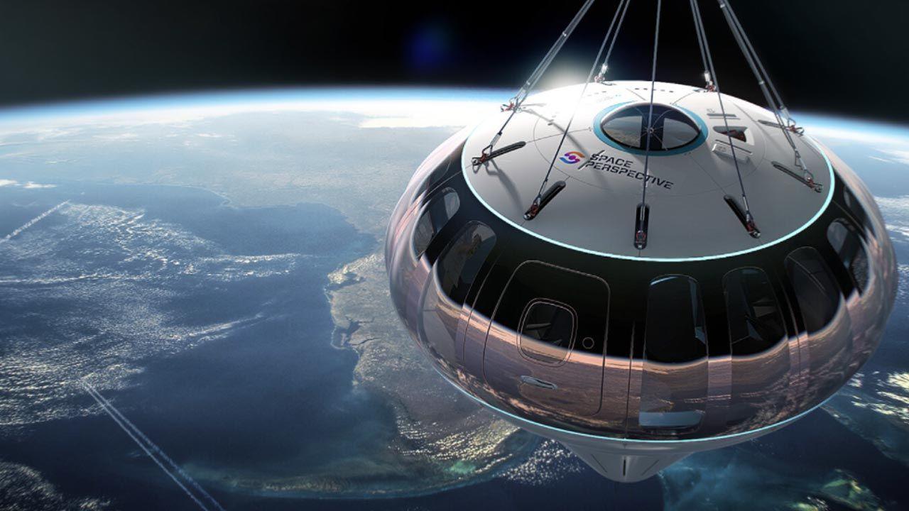 Bilety na podróż kosmiczną (fot. Space perspective)