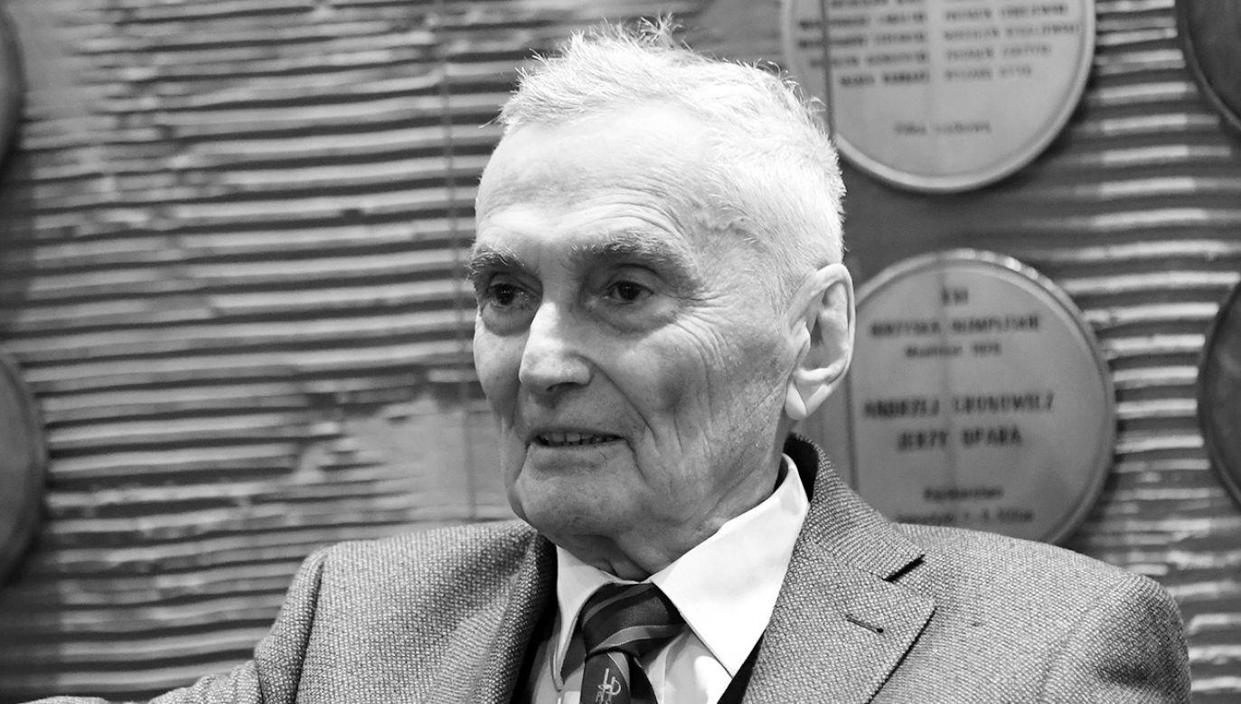Wojciech Zabłocki. zaprojektował także Ośrodek Przygotowań Olimpijskich w Warszawie (fot. PAP/Bartłomiej Zborowski)