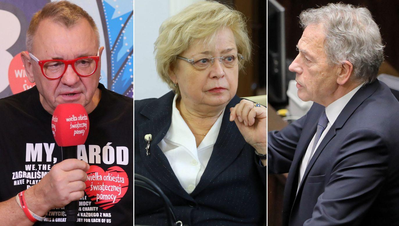Przykładem takiej utraty wartości był język komunistycznej propagandy (fot. arch.PAP/Rafał Guz, PAP/Paweł Supernak(2)
