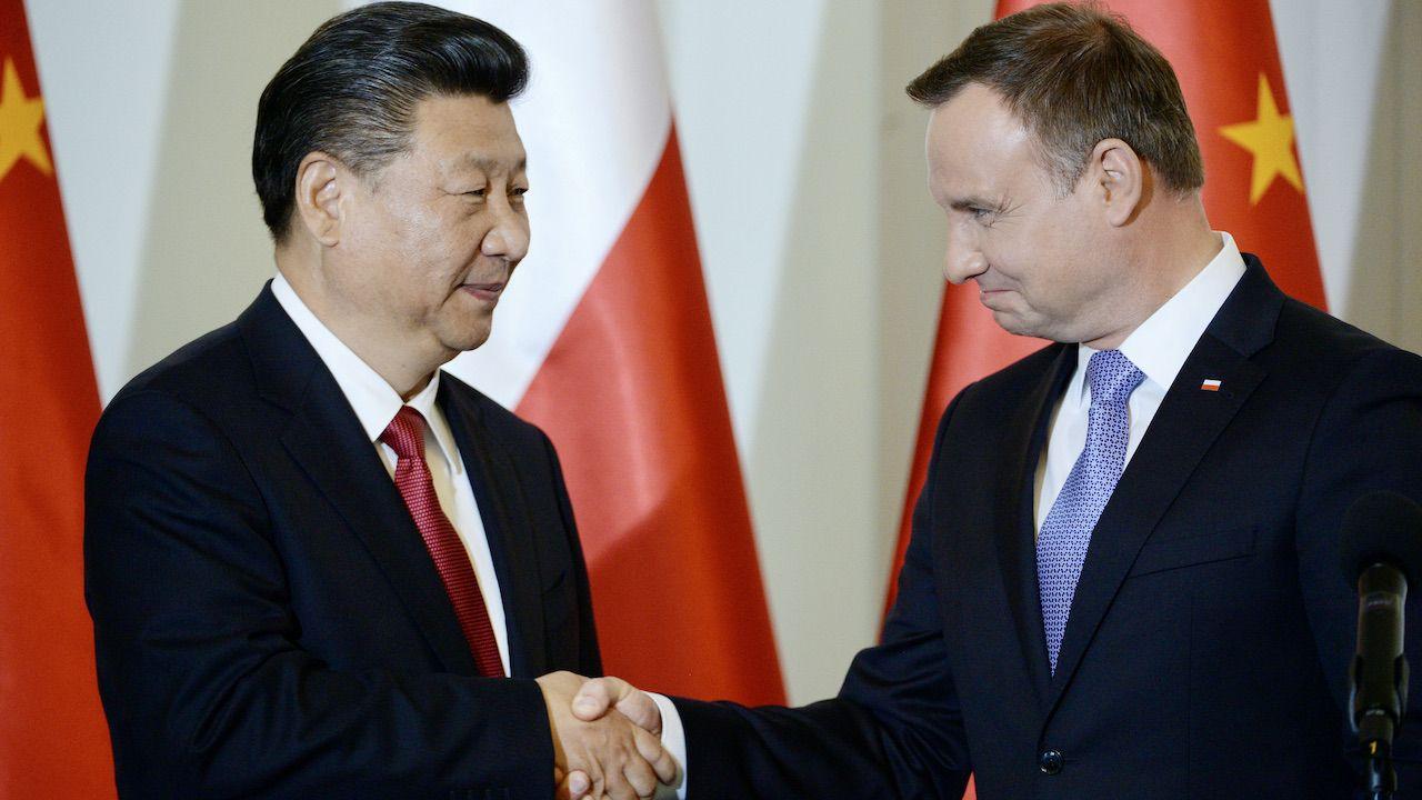 Prezydent Andrzej Duda rozmawiał z prezydentem Chin Xi Jinpingiem (fot. arch.PAP/Jacek Turczyk)