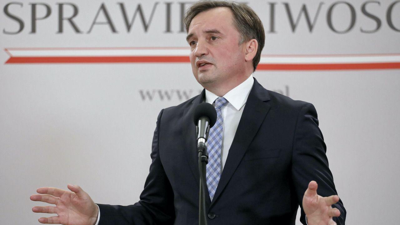 Ziobro odniósł się do nieoficjalnych informacji PAP (fot. PAP/Paweł Supernak)
