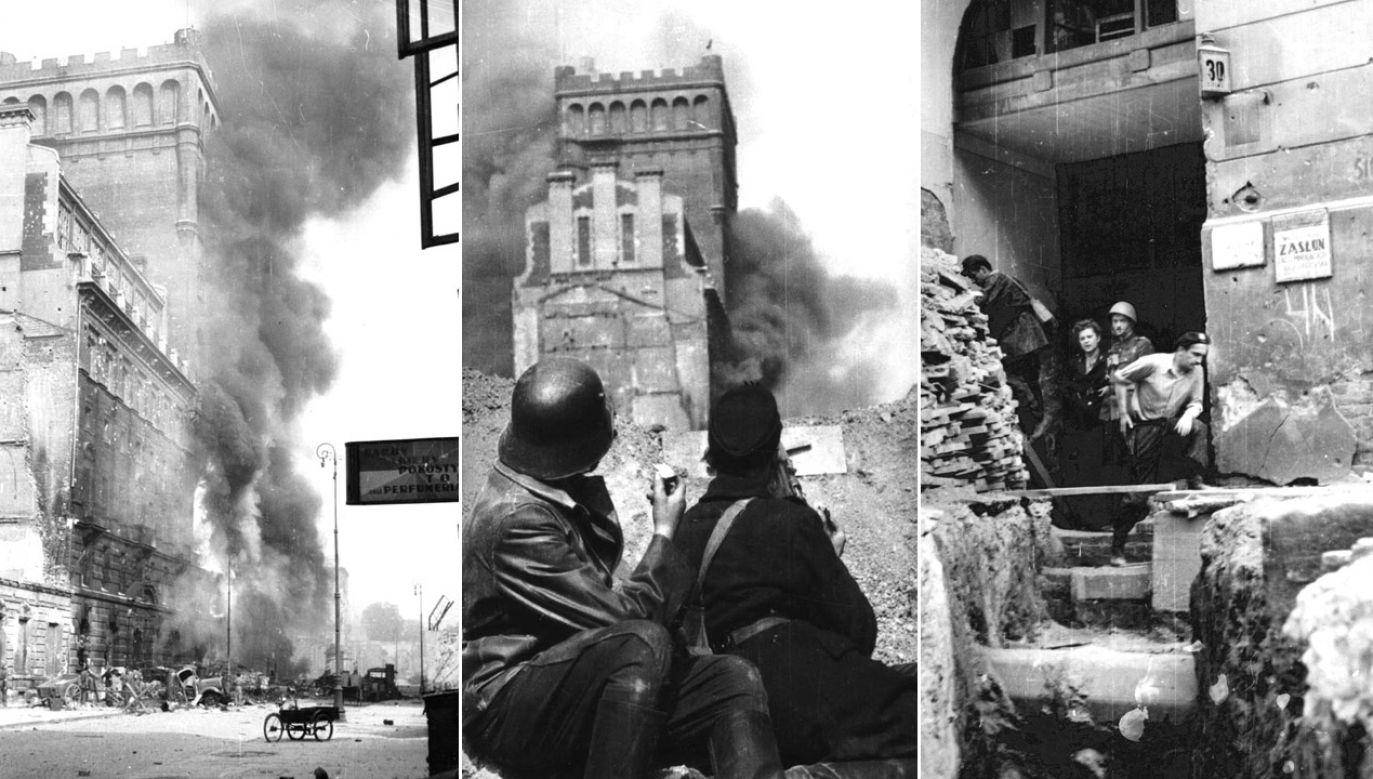 PAST-a została w rękach powstańców do końca powstania (fot. arch.PAP/Alamy(3)