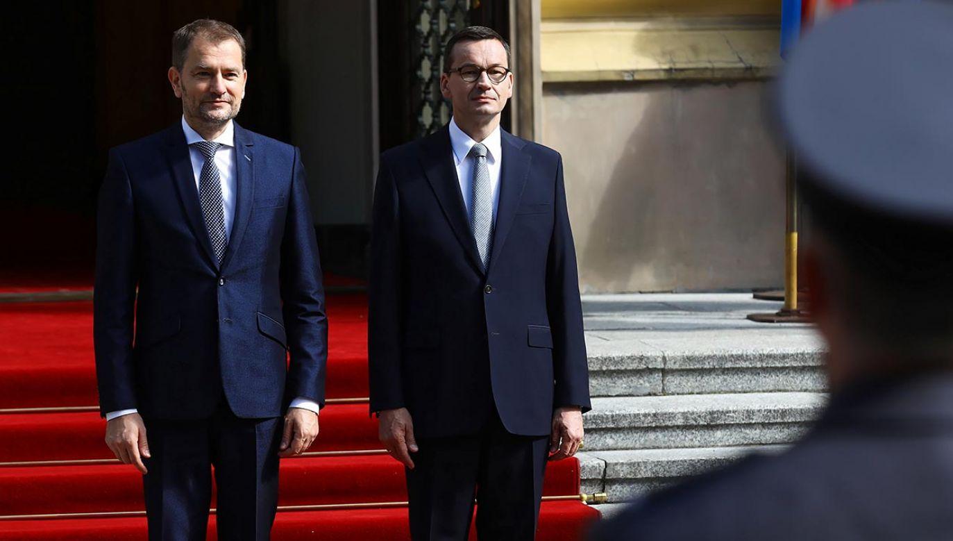 Polska obejmuje przewodnictwo w Grupie Wyszehradzkiej (fot. PAP/Rafał Guz)
