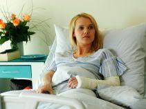 Iga dochodzi do siebie w szpitalu (fot. TVP)