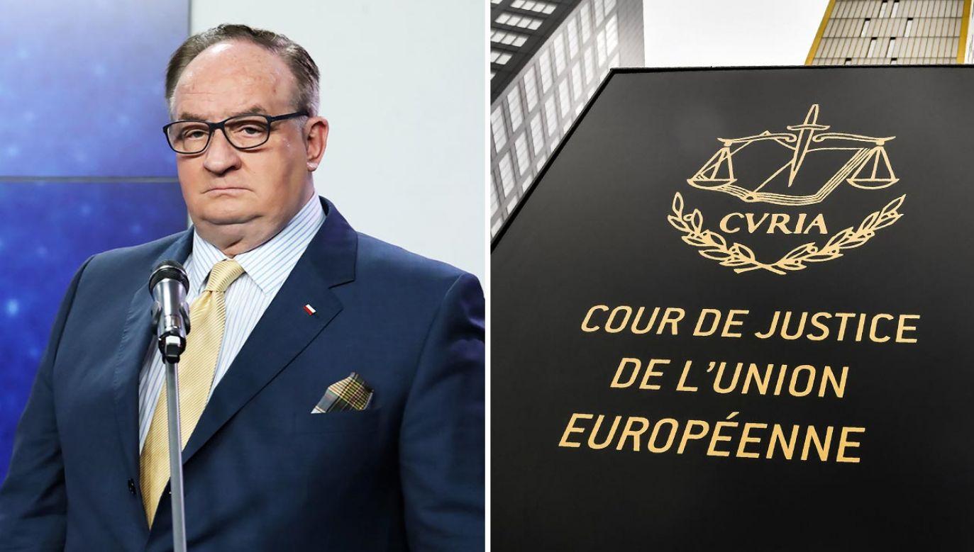 Wyrok TSUE przekracza kompetencje traktatowe Unii – podkreśla europoseł (fot. PAP/Tomasz Gzell; Geert Vanden Wijngaert/Bloomberg via Getty Images)