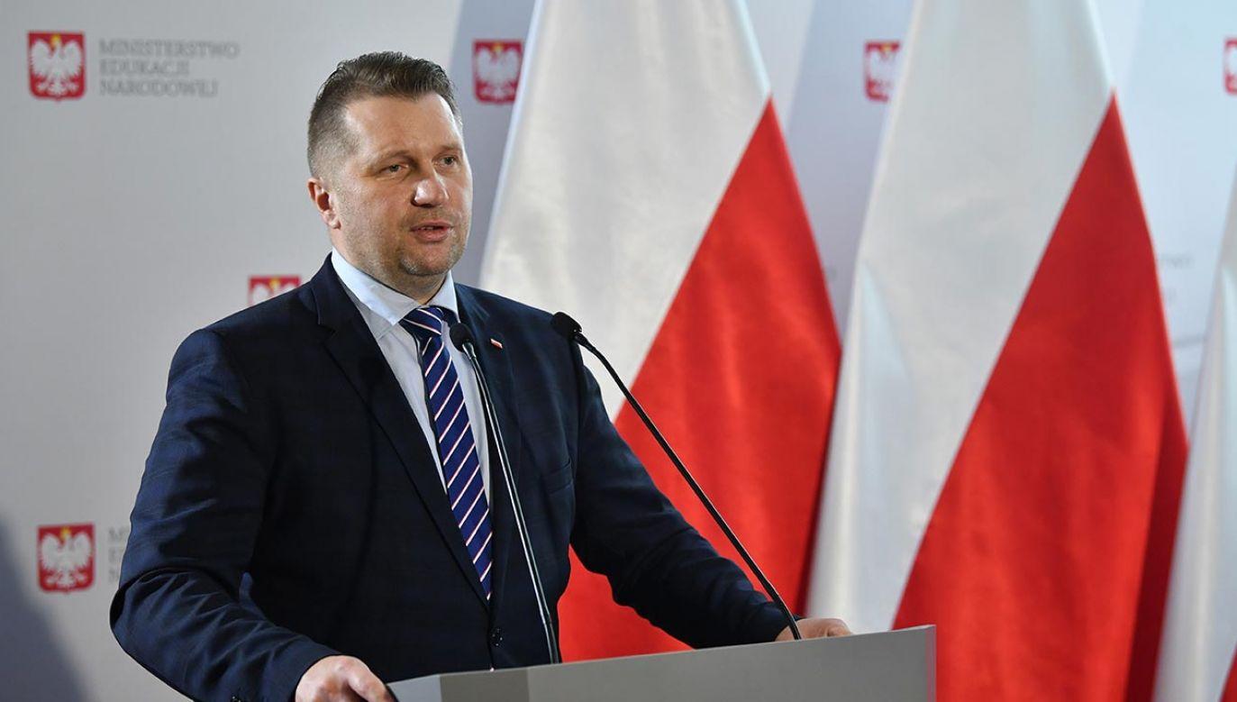 """Profesor Czarnek mówił też o """"dyktaturze na uczelniach"""" (fot. PAP/Radek Pietruszka)"""