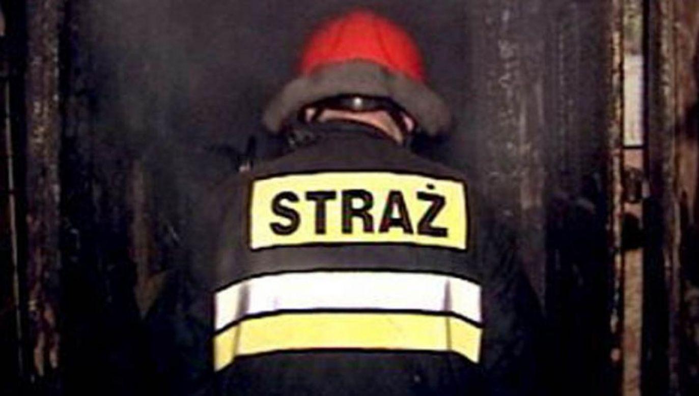 Dwie osoby zostały zabrane do szpitala przez pogotowie ratunkowe (fot. tvp.info)