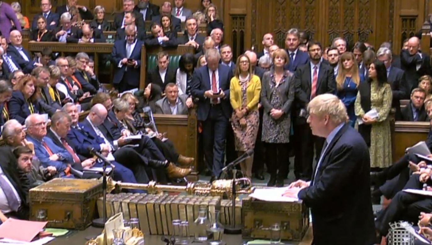 Brytyjski parlament zdecyduje, czy do końca października dojdzie do brexitu (fot. PAP/EPA/UK PARLIAMENTARY RECORDING UNIT)