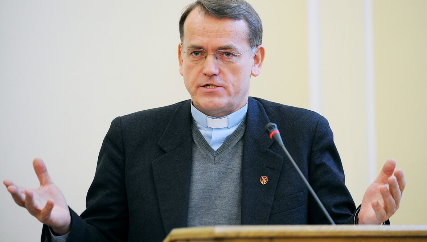 Ks. prof. Dariusz Oko: nietykalność homoseksualistów należy do dogmatów ideologii gender (fot. Forum/Adam Chelstowski)