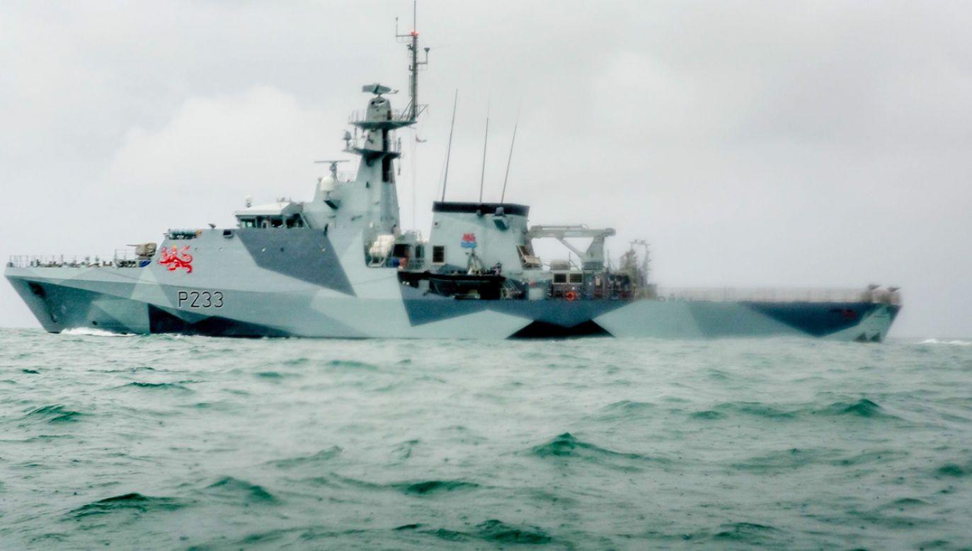 Wielka Brytania i Francja wysłały łodzie patrolowe w okolice wyspy Jersey (fot. Gary Grimshaw/Getty Images)