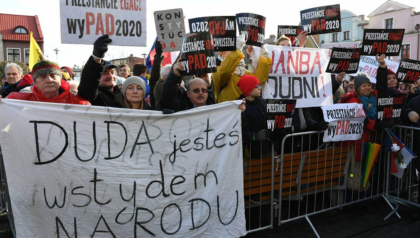 """""""To jest dama polskiej polityki"""" (fot. arch. PAP/Adam Warżawa)"""