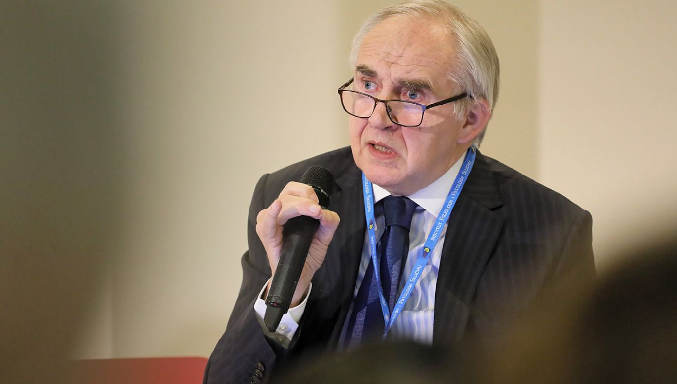 Prof. Marian Zembala (fot. arch.PAP/Paweł Supernak)