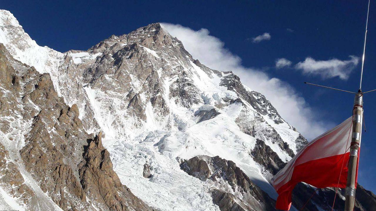 Polska baza pod szczytem K2 (fot. fb/Polski Himalaizm Zimowy 2016-2020 im. Artura Hajzera/Rafał Fronia)