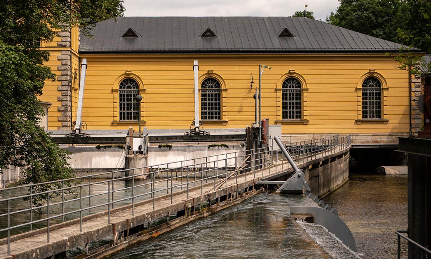 Historyczne wodociągi w Augsburgu (fot. PAP/EPA/LUKAS BARTH-TUTTAS)