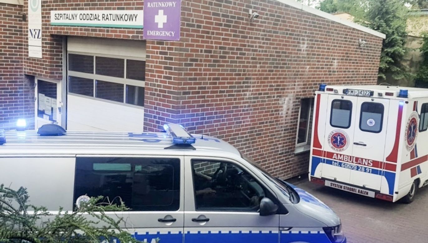 Według wstępnych ustaleń policji, dziecko było jedynie pod opieką siedmioletniej siostry (fot. policja.pl, zdjęcie ilustracyjne)