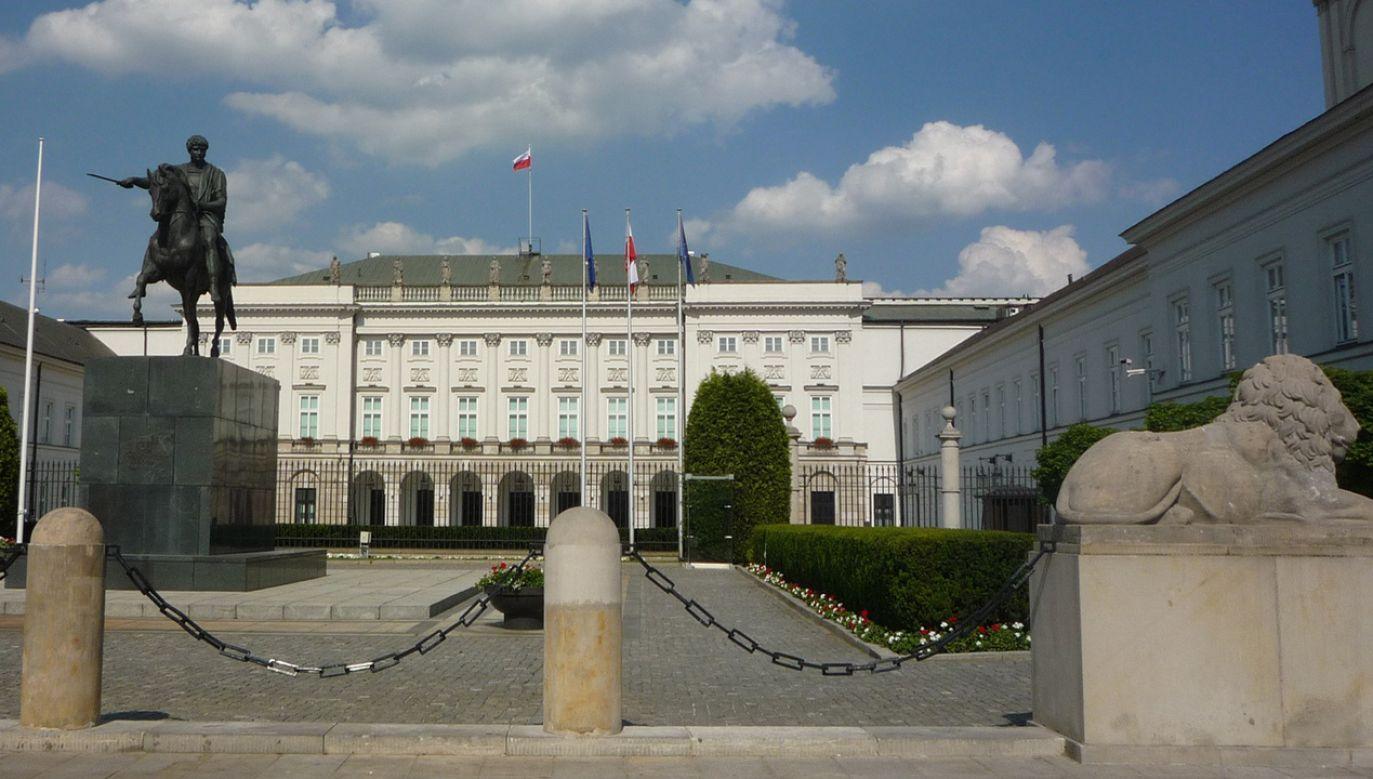 Spotkanie ma się odbyć w środę w pałacu prezydenckim (fot. pixabay Bodzio885)