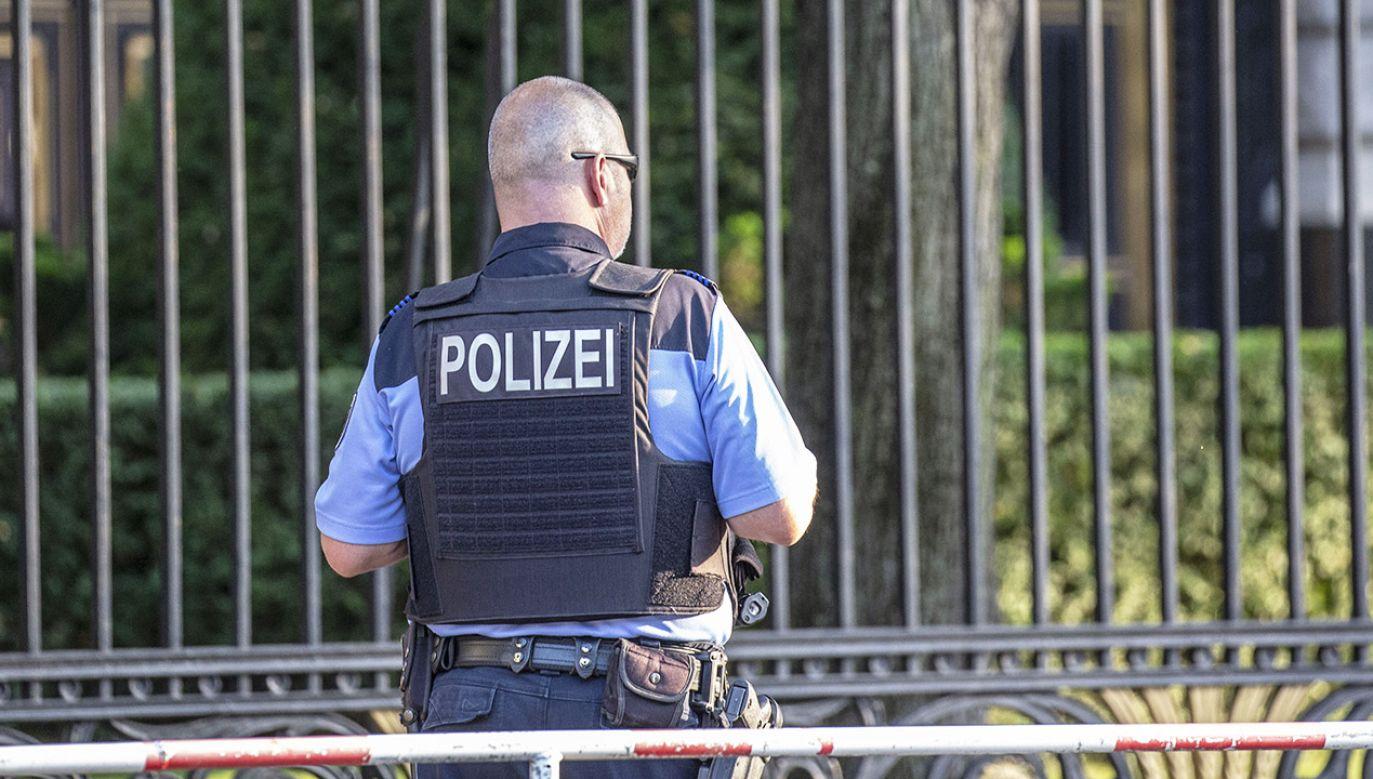 Trwa obława na sprawcę lub sprawców (fot. Omer Messinger Getty Images)