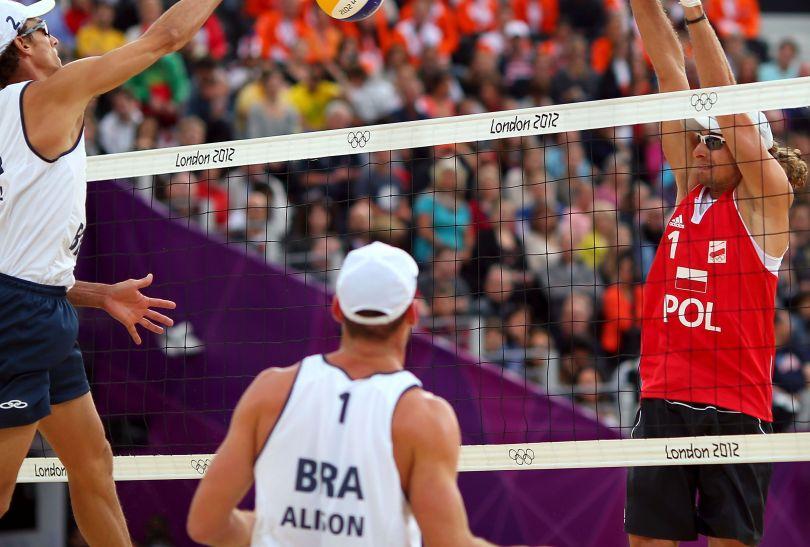 Mariusz Prudel w bloku (fot. Getty Images)