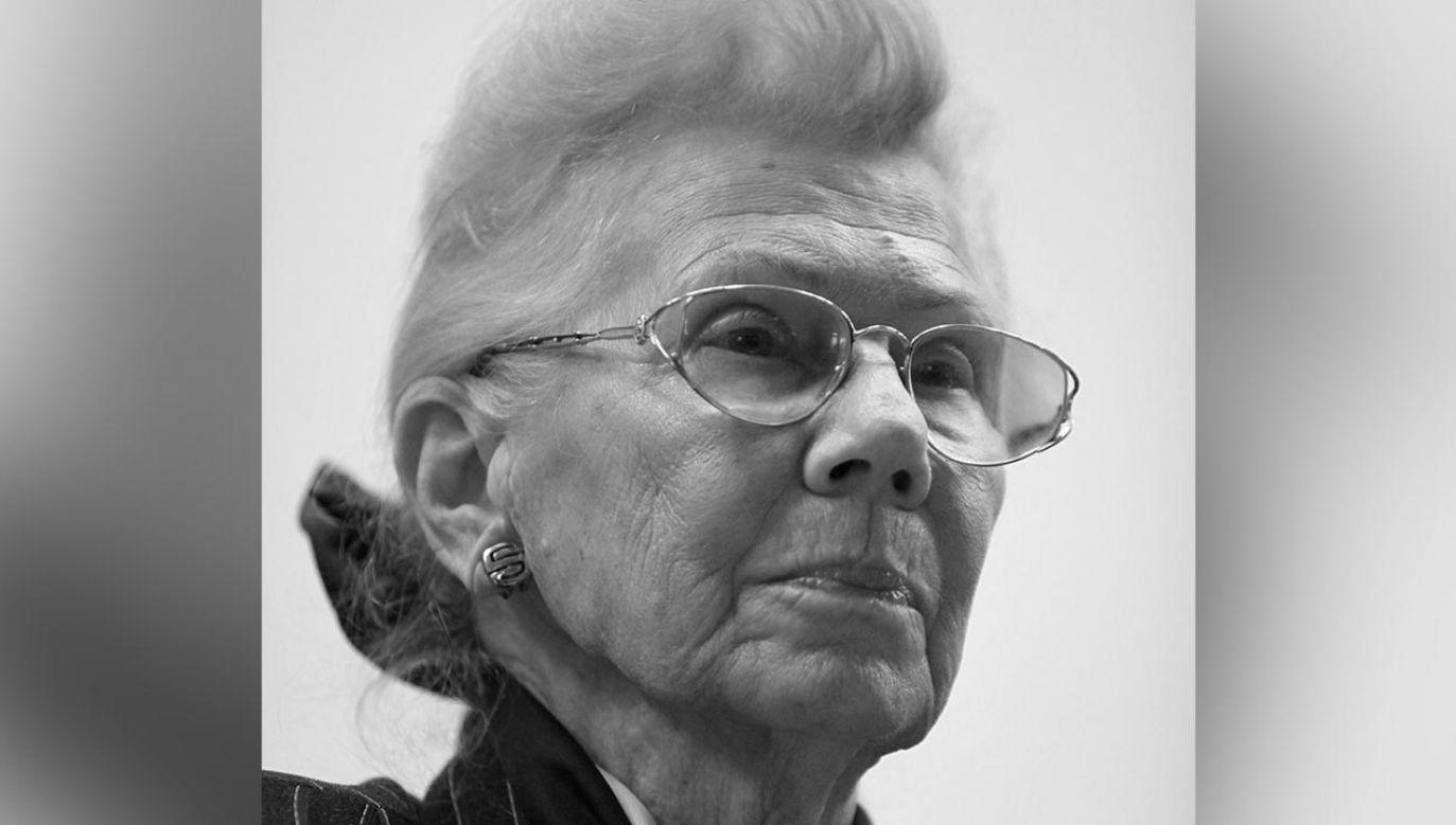 20 kwietnia 2021 r. zmarła dr hab. Janina Suchorzewska (fot. PAP/Roman Jocher)