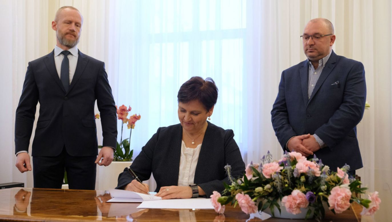Porozumienie dotyczy to lądowisk w Wiśle oraz w Juracie na Mierzei Helskiej (fot. PAP/Mateusz Marek)