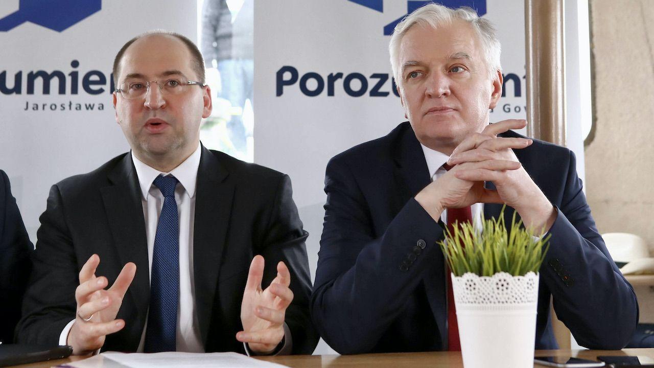 Jarosław Gowin przechodzi u siebie podobne kłopoty co PO  (fot. arch.PAP/Piotr Augustyniak)