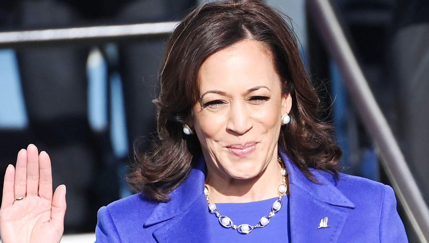 Kamala Harris jest wiceprezydentem USA, pierwszą kobietą na tym stanowisku (fot. Saul Loeb - Pool/Getty Images)