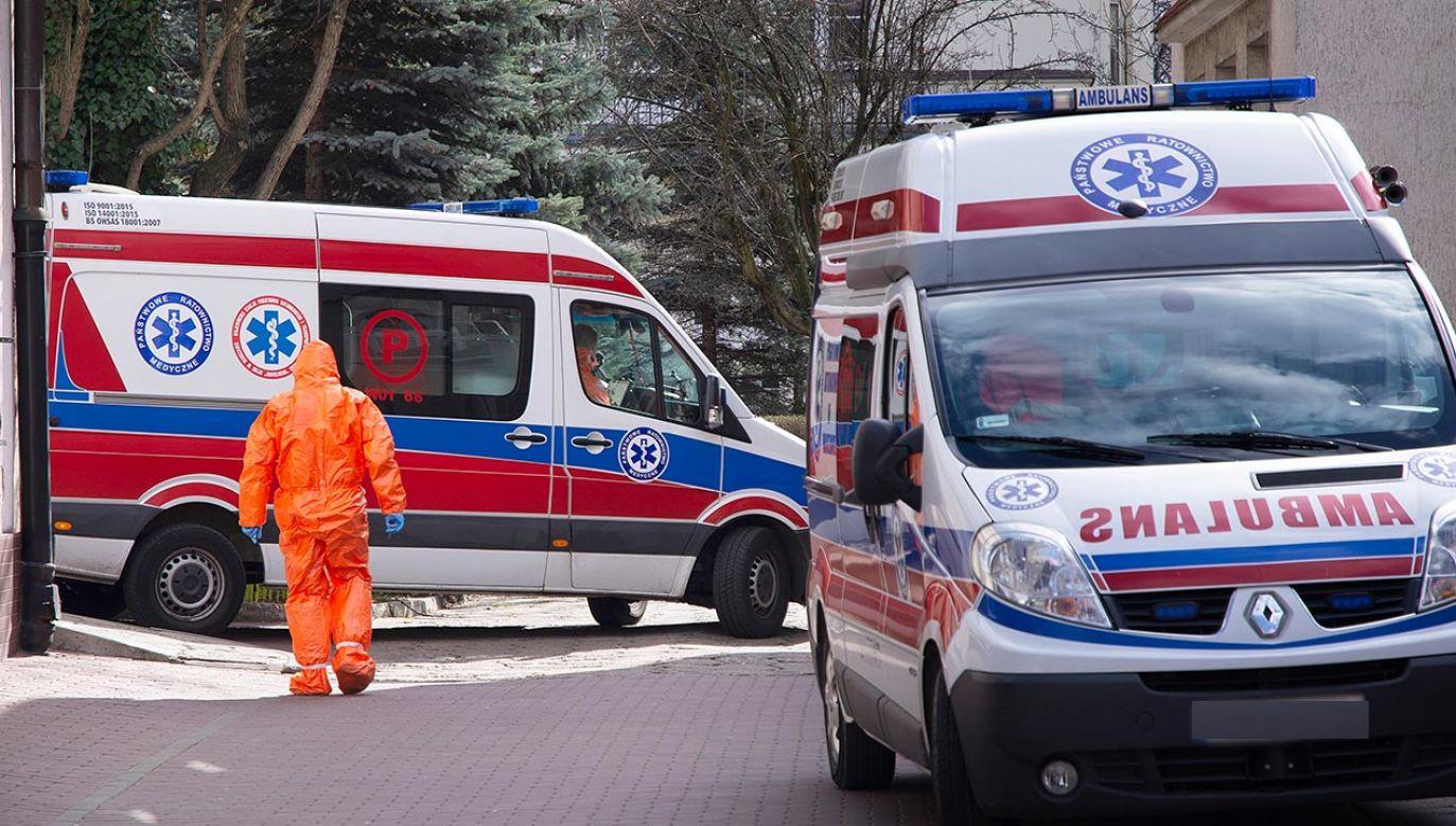 Karetka wiozła pacjenta pod respiratorem (fot. Shutteerstock/Grand Warszawski, zdjęcie ilustracyjne)