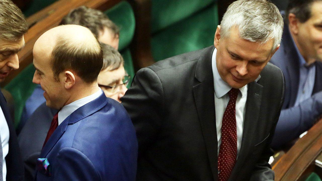 Borys Budka i Tomasz Siemoniak (fot. arch.PAP/Tomasz Gzell)