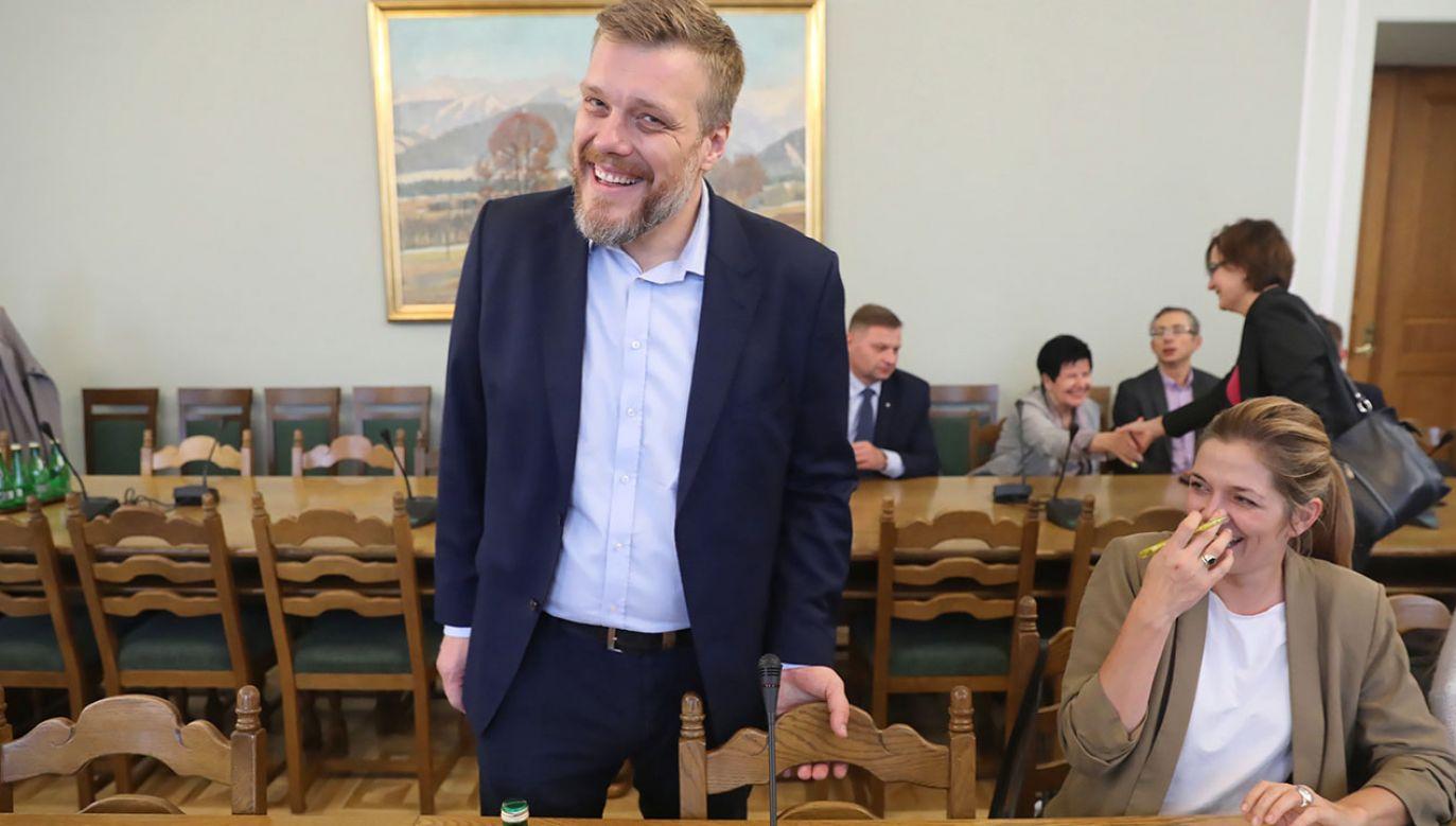 """""""Będziemy obserwować przewodniczącą Biejat. Zależy nam na tej komisji"""" (fot.  PAP/Tomasz Gzell)"""