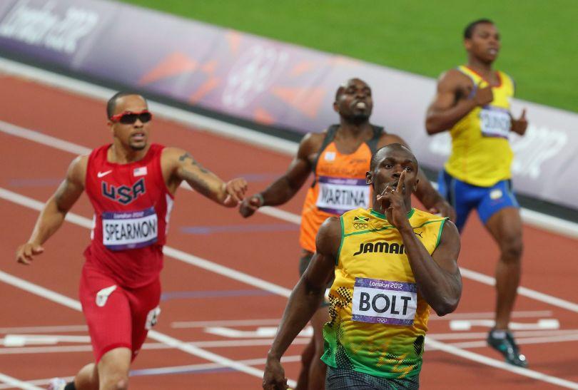 Usain Bolt we wspaniałym stylu zdobył złoty medal na 200 metrów (fot. Getty Images)