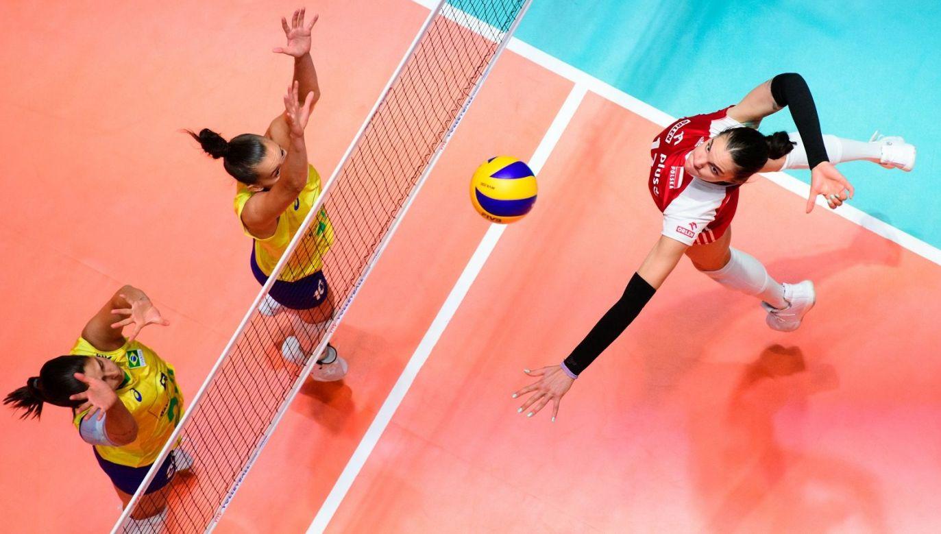 Malwina Smarzek-Godek była najlepiej punktującą spośród wszystkich siatkarek, które grały w tegorocznej edycji Ligi Narodów (fot. fivb.org)