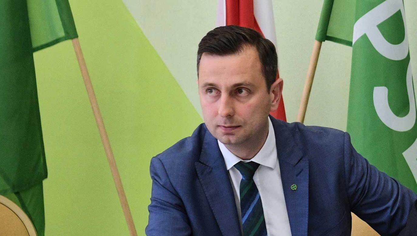 PSL będzie tworzyć drugi blok – powtórzył prezes Kosiniak-Kamysz (fot. PAP/Radek Pietruszka)