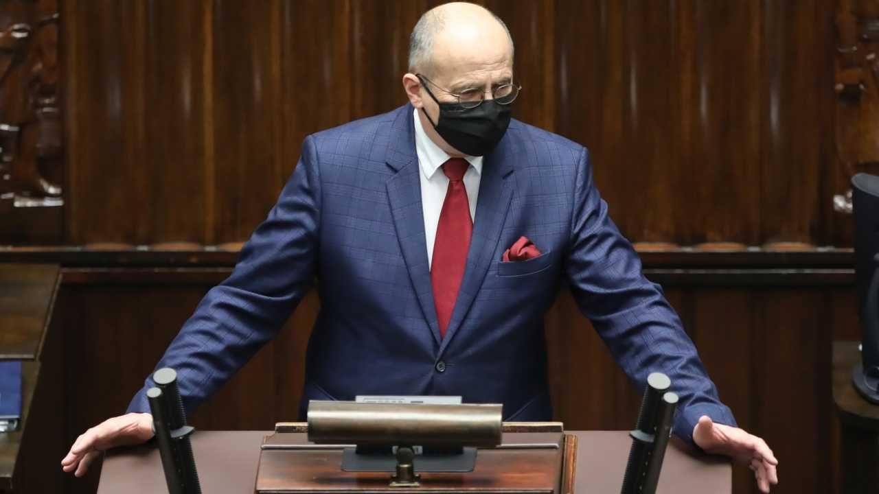 Szef MSZ prof. Zbigniew Rau jest przeciwny Nord Stream 2 (fot. PAP/Wojciech Olkuśnik)