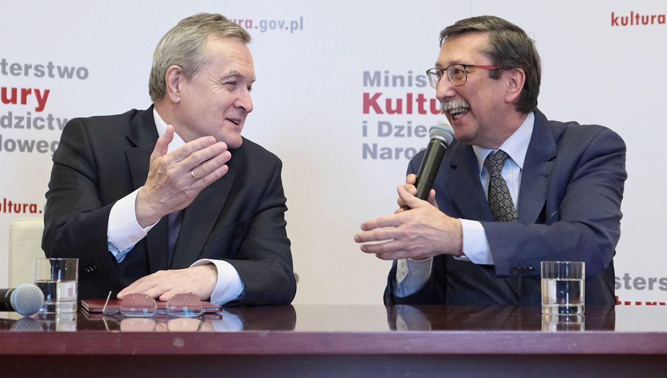 """Powołanie instytucji ma wpisywać się w dotychczasowe działania MKiDN, polegające na wypełnianiu """"białych plam"""" polskiej pamięci (fot.  PAP/Mateusz Marek)"""